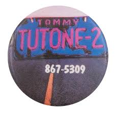 Tommy Tutone | Busy Beaver Button Museum