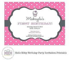 kitty party invitation card template