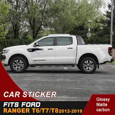 Free Shipping 2 Pcs Side Light Car Sticker Off Road Vinyl Sticker Racing Decal For Ford Ranger T6 T7 T8 Car Stickers Aliexpress