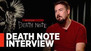 DEATH NOTE: Director Adam Wingard Interview - YouTube
