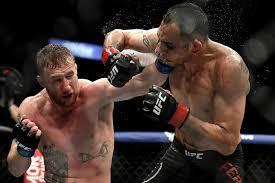 UFC 249, Джастин Гэтжи одолел Тони Фергюсона и стал временным чемпионом,  видео боя - Чемпионат