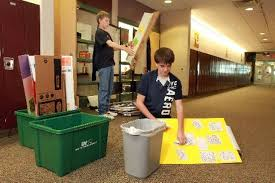 Byron Center West Middle School's Eco Challenge Team strives to keep 850  trees alive - mlive.com