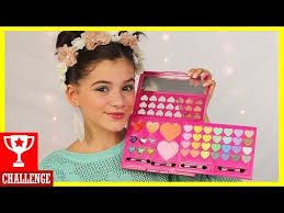 full face using only kids makeup