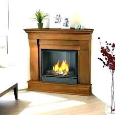 small fireplace insert