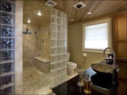 style fashion celebrity glass block shower