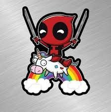 Deadpool Superhero Comics Bumper Sticker Vinyl Decal For Marvel Truck Car Window Rainbowlands Lk