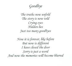 sad quotes about saying goodbye quotesgram