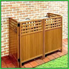 Outdoor Ac Cover Strong Metal Air Conditioner Wood Zhogov
