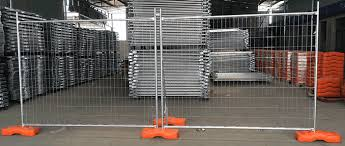 Portable Steel Mesh Framework Panel Mobile Fencing
