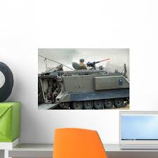 M113 Tracked Infantry Vehicle Wall Decal Wallmonkeys Com