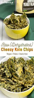 dehydrated cheesy kale chips omnomally