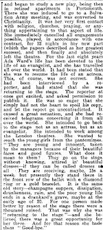 Papers Past | Newspapers | Otago Witness | 12 May 1909 | - MISS ADA WARD.