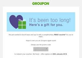 free groupon rm20 voucher giveaway