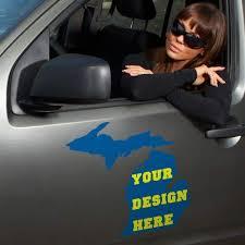 Michigan Custom State Decals
