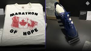 Adidas releasing Terry Fox 40th anniversary commemorative sneakers, T-shirt  Wednesday