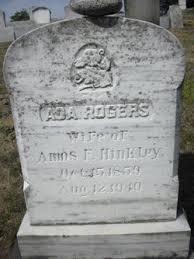 Ada Rogers Hinkley (1859-1940) - Find A Grave Memorial