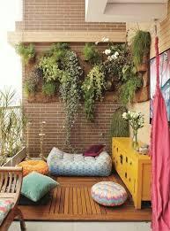 small urban balcony garden