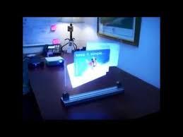 AZ Multimédias : Écran holographique au Maroc - YouTube
