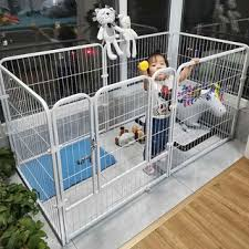 Dog Fence Pet Dog House Cat Nest Dog Supplies House Fence Small Medium Large Dogs Shopee Philippines