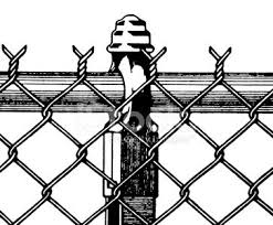 Chain Link Fence Section Clipart 1 566 198 Clip Arts