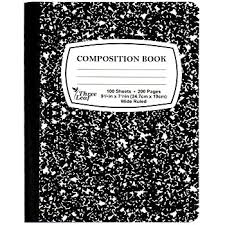 Wholesale Black marble Composition Notebook 100 sheets, Wide (SKU ...