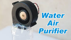how to make water based air purifier