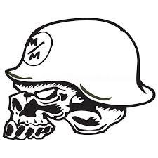 Metal Mulisha Skull Decal