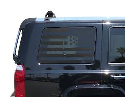 Distressed American Flag Decals For Jku Jeep Commander Side Windows Usa By Thepaddockfactory On Etsy Https Ww Flag Decal American Flag Decal Jeep Commander