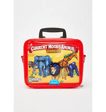 cur mood animal cookies lunch box