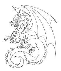 Tranh tô màu con Rồng cho bé cá tính, mạnh mẽ