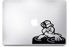 Dj Macbook Decals