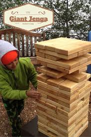 how to build a giant jenga game