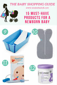Top 15 Must-have Products for a Newborn Baby! - You, Baby and I