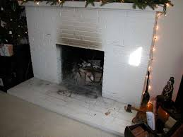 removing fireplace s brick facade not