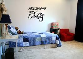 Zoomie Kids Hixson Eat Sleep Game Video Game Controller Silhouette Vinyl Graphic Word Wall Decal Wayfair
