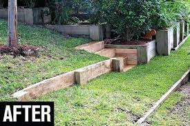 retaining wall ideas for front yard