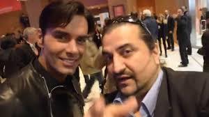 Roma Fest Film 2014 : Massimiliano Morra saluta i fans con il Salutatore  del Blog - YouTube