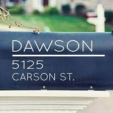 Davis Vinyl Designs Modern Mailbox Wall Decal Wayfair