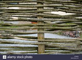 Woven Fence Hurdle Weave High Resolution Stock Photography And Images Alamy