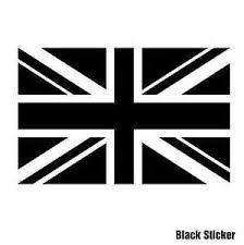 British England Flag Sticker Single Colour Design 15cmw Laptop Ipad Car Van Ps4 Ebay