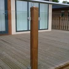 diy glass decking railings