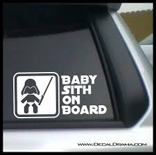 Baby Sith On Board Vinyl Car Decal Wall Stickers Home Kitchen