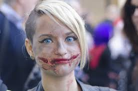 4 gruesome halloween makeup tips from