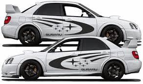 Supercars Gallery Subaru Decals
