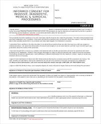 free 7 informed consent forms in pdf