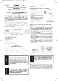 ambient controls rmsc remote control
