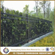 China Powder Coated Simple Cheap Wrought Iron Grill Fence Design China Wrought Iron Grill Fence And Simple Cheap Wrought Iron Grill Fence Price