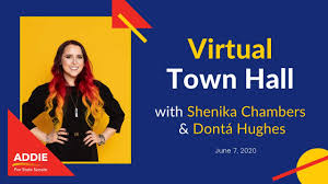 June 7, 2020 Important Town Hall with Addie Miller featuring ...