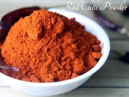 homemade red chili powder simple
