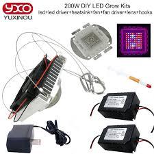 diy 200w led grow light 8 band full